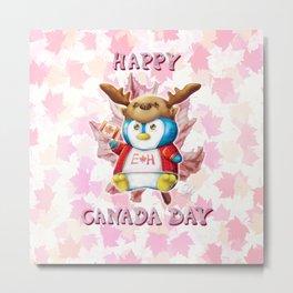 Canada Day 2019 - Eh - ALT CLR - Text Metal Print