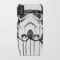 storm trooper iPhone & iPod Cases featuring storm trooper by ErDavid