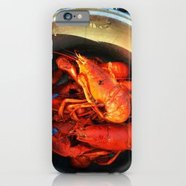 Maine Lobster Pot (2) iPhone Case