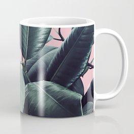 Ficus Elastica #14 #CoralBlush #decor #art #society6 Coffee Mug