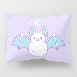 Cute Pastel Bat Pillow Sham