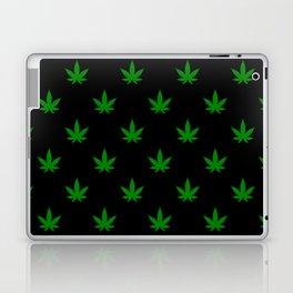 weed leaf print pattern Laptop & iPad Skin