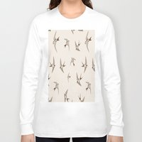 birdy Long Sleeve T-shirts featuring birdy by LA creation