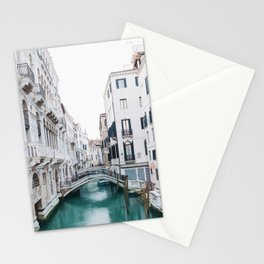 The Floating City - Venice Italy Architecture Photography Stationery Cards