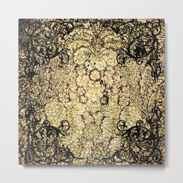 Decorative pattern Metal Print