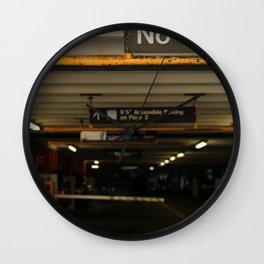 No Vans Wall Clock