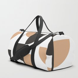 Slices - Caramel and Black Coffee Duffle Bag