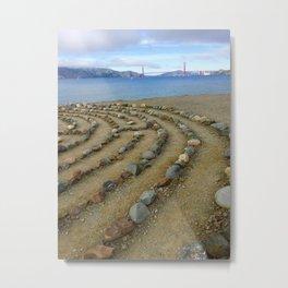 Lands end San Francisco golden gate Metal Print