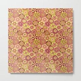 Millefiori-Canyon Colors Metal Print