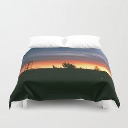 June Sunset Duvet Cover