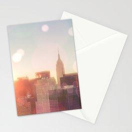 New York City Skyline Love Stationery Cards