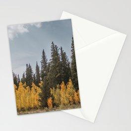 Aspen vs. Pine Stationery Cards