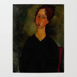 "Amedeo Modigliani ""Little Servant Girl"" Poster"