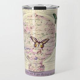 Vintage collage Travel Mug