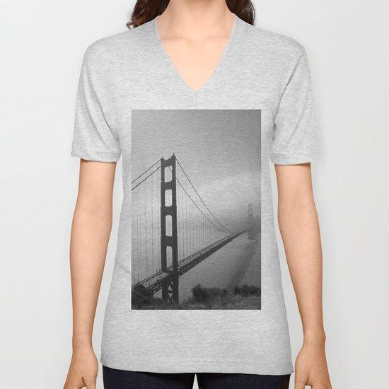 The Golden Gate Bridge In A Mist by christianeschulze