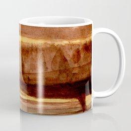 Tigers Eye Crystal Watercolor Coffee Mug