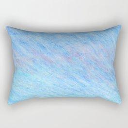 Pastel blue sky Rectangular Pillow