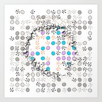 cracked Art Prints featuring Cracked by Susann Mielke