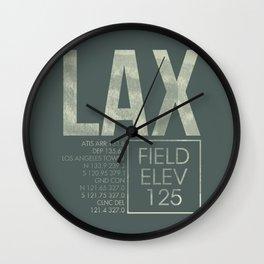 LAX II Wall Clock