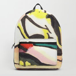 "Franz Marc ""Fantastic Creature (Fabeltier)"" Backpack"