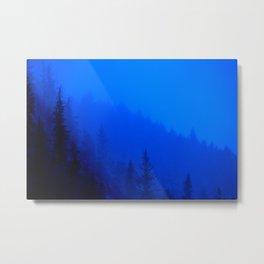 Blue Mist - Kenai Peninsula, Alaska Metal Print