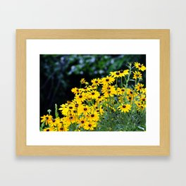 """""""Flowers are the music of the ground... From earth's lips spoken without sound."""" ~Edwin Curran Framed Art Print"""