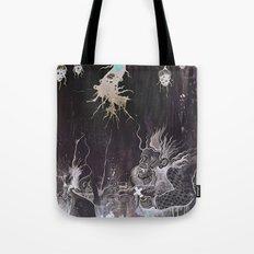 Black and White and a Rubin Tote Bag
