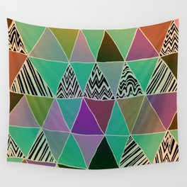 Triangle 3 Wall Tapestry