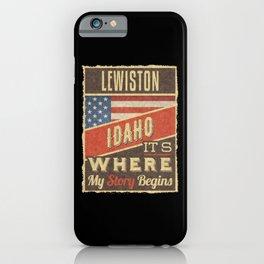 Lewiston Idaho iPhone Case