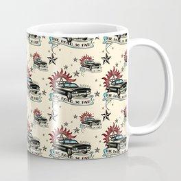 The Road So Far Vintage Coffee Mug