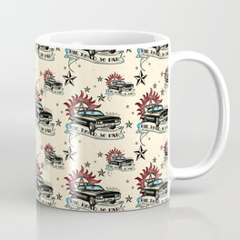 The Road So Far Vintage Coffee Mug