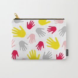Hand Print 01 Carry-All Pouch