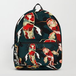 Metallic Koi Backpack