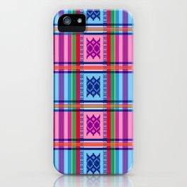Ethno Buginese Sabbe Pattern 03 iPhone Case
