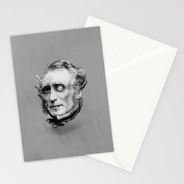 The Corrupted Man Stationery Cards