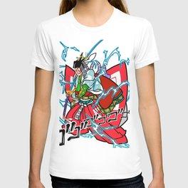 "Kabuki-Shibaraku ""Charge Ki"" T-shirt"