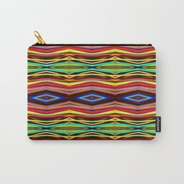 Woven Straws Carry-All Pouch