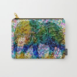 Mosaic Elephant 2 Carry-All Pouch
