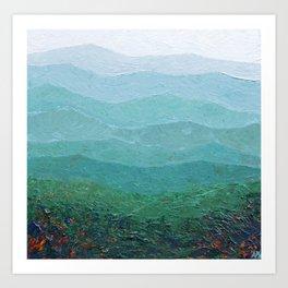 Fall in the Shenandoah Art Print