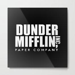 The Office Dunder Miflin Metal Print