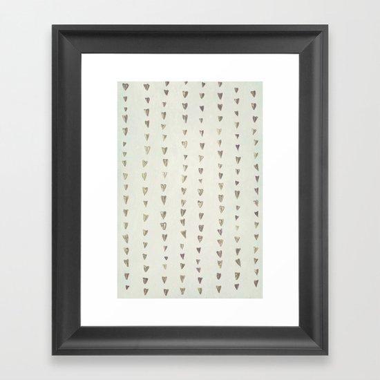 Love Rain Framed Art Print