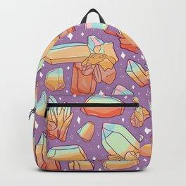 Rainbow Crystal Print Backpack
