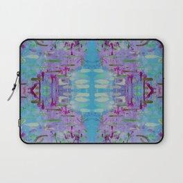 Purple Watercolor Tapestry Laptop Sleeve
