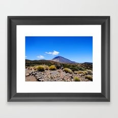 El Teide Framed Art Print