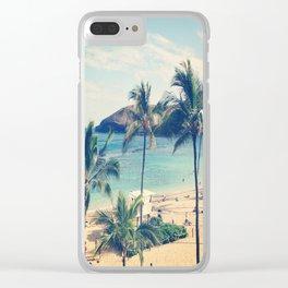 Hanauma Bay Clear iPhone Case