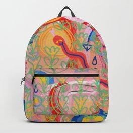 Pink World Goddess Bølle  Backpack