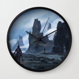 La Plage Wall Clock