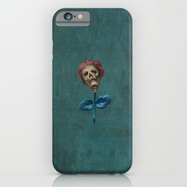 La Mort en Rose iPhone Case