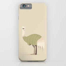 Whimsical Emu iPhone Case