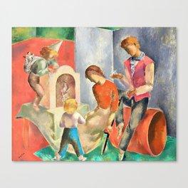 Eugeniusz Zak - The puppets - Digital Remastered Edition Canvas Print